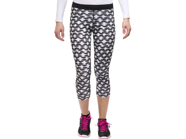 Nike Printed Relay Running Shorts Crop Women black/refsil